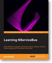 Cover photo of Learning NServiceBus by David Boike